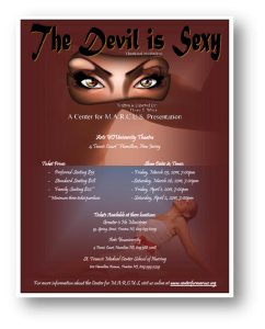 The Devil is Sexy Flyer 2011b